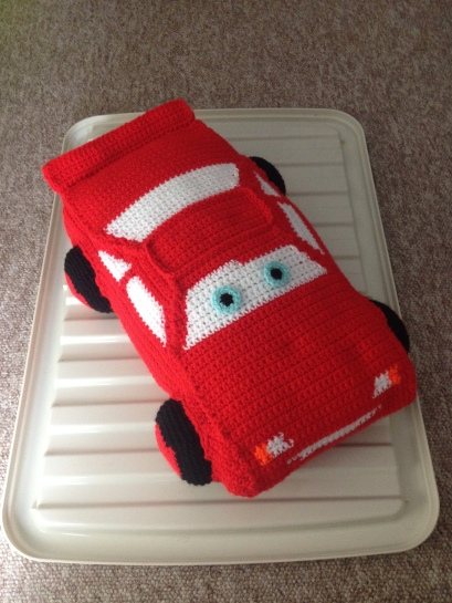 Lightening McQueen, design found online