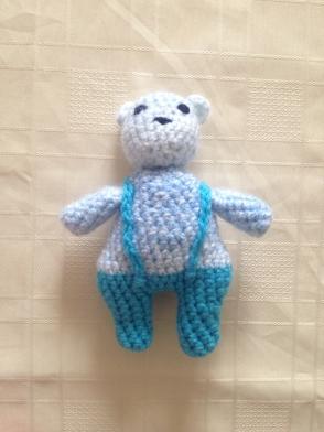 A little bear, design from a crochet course