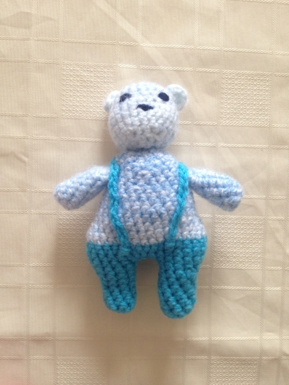 A little bear, design from a crochet course