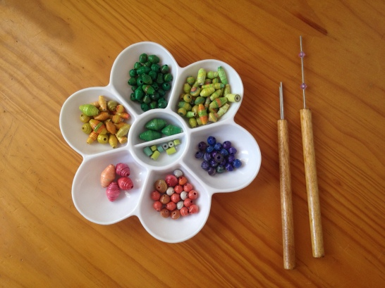 Collection of paper beads